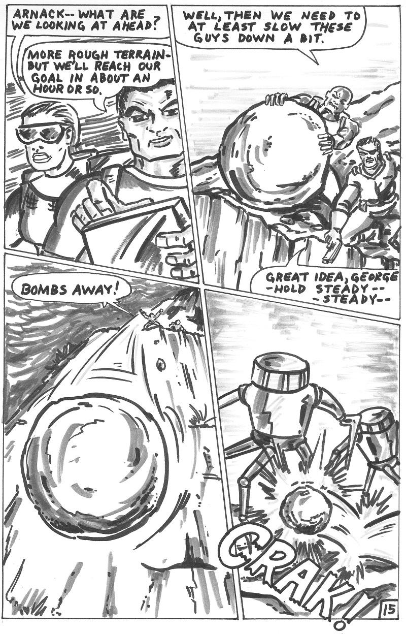 Mutant Animals Vs. Zombies Vs. Machines Vs. Humans 1 p15